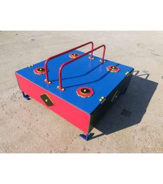 Песочница с крышкой 1250*1250