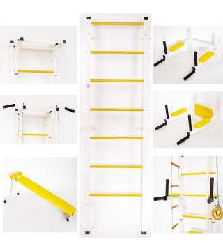 Шведская стенка Марафонец желтый