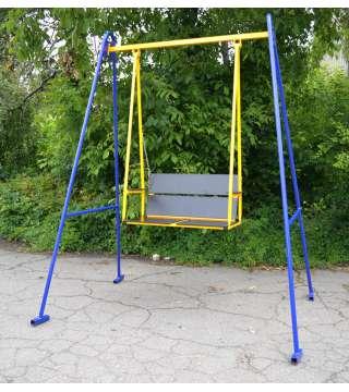 Качель двухместная с регулируемой спинкой  Гойдалка-3