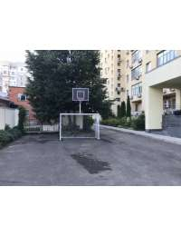 Ворота 3х2 + баскетбольний щит